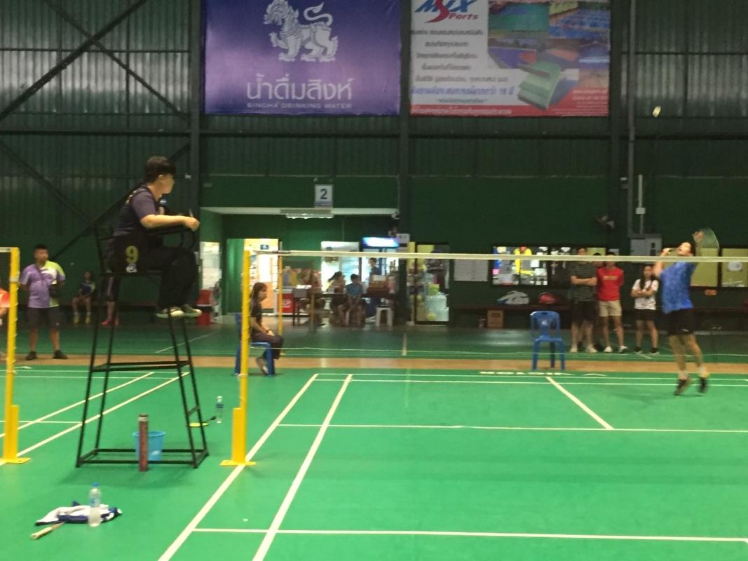 นักศึกษาสาขาวิชาพลศึกษา เป็นกรรมการตัดสิน ในการแข่งขันแบตมินตันรายการ Junior Badminton Challenge 2019