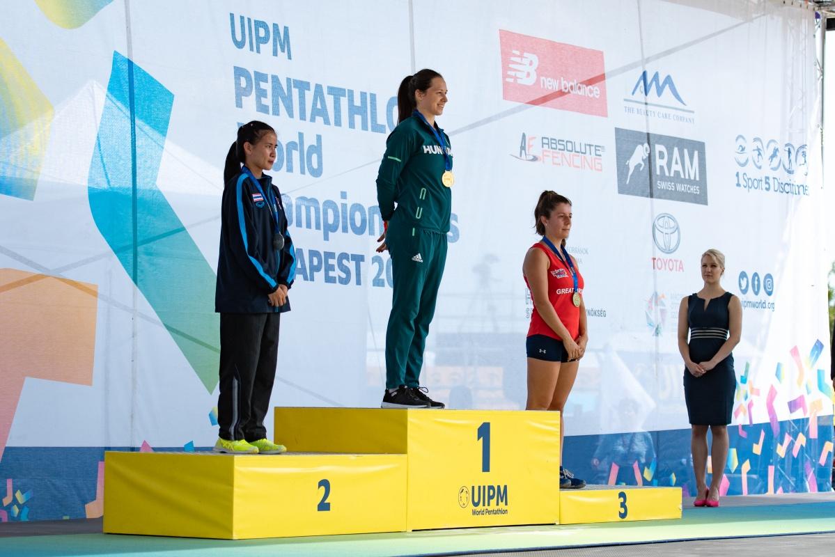 นักศึกษาสาขาวิชาพลศึกษา คว้าเหรียญเงิน ใน UIPM 2019 Pentathlon and Laser Run World Championships ณ เมืองบูดาเปสต์ ประเทศฮังการี