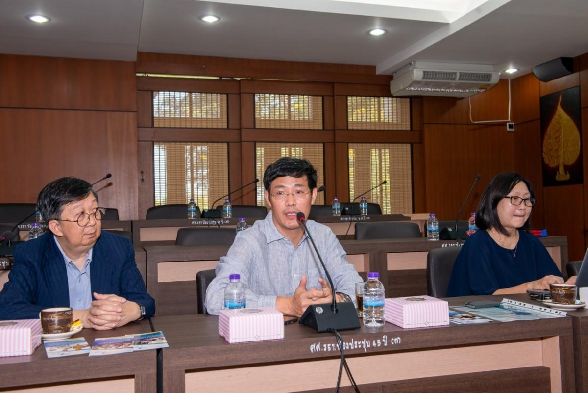 ผู้บริหารคณะศึกษาศาสตร์ มช. ให้การต้อนรับผู้บริหารและคณาจารย์จากสถาบันการศึกษาแห่งชาติ มหาวิทยาลัยเทคโนโลยีหนานหยาง ประเทศสิงคโปร์