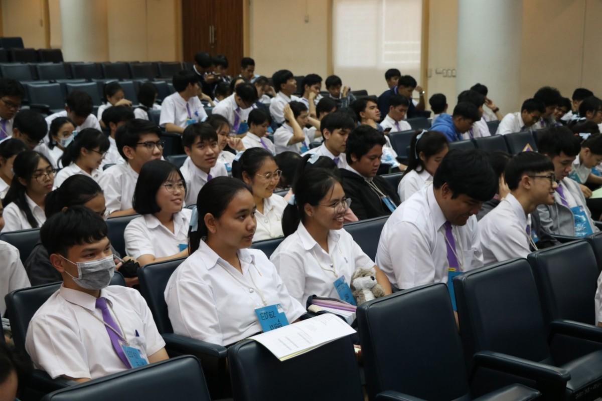 นักศึกษาชั้นปีที่ 1 รหัส 62 ร่วมการปฐมนิเทศนักศึกษาปฏิบัติการสอนในสถานศึกษา 1 ภาคการศึกษา 2/2562