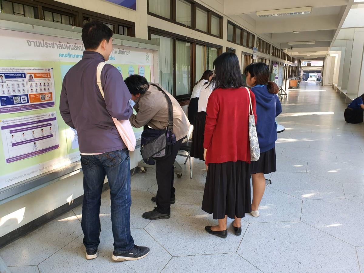 นักศึกษาคณะศึกษาศาสตร์ใช้สิทธิเลือกตั้งผู้นำนักศึกษา ปีการศึกษา 2563 สูงสุดเป็นอันดับที่ 2