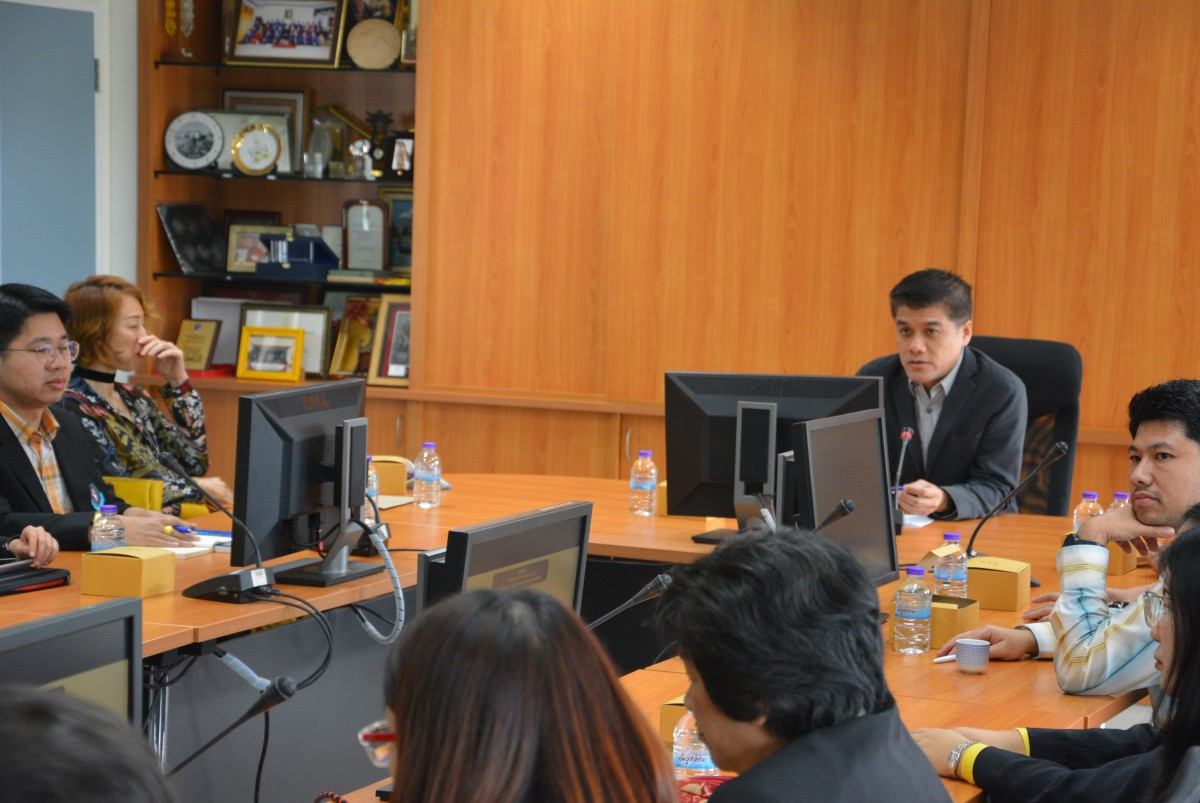 คณะศึกษาศาสตร์ มช. เข้าศึกษาดูงาน วิทยาลัยศิลปะ สื่อ และเทคโนโลยี มหาวิทยาลัยเชียงใหม่ ที่ผ่านโครงการ EdPEx200