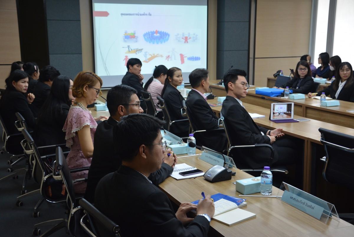 คณะศึกษาศาสตร์ มช. เข้าศึกษาดูงาน คณะเศรษฐศาสตร์ มหาวิทยาลัยเชียงใหม่ ที่ผ่านโครงการ EdPEx200