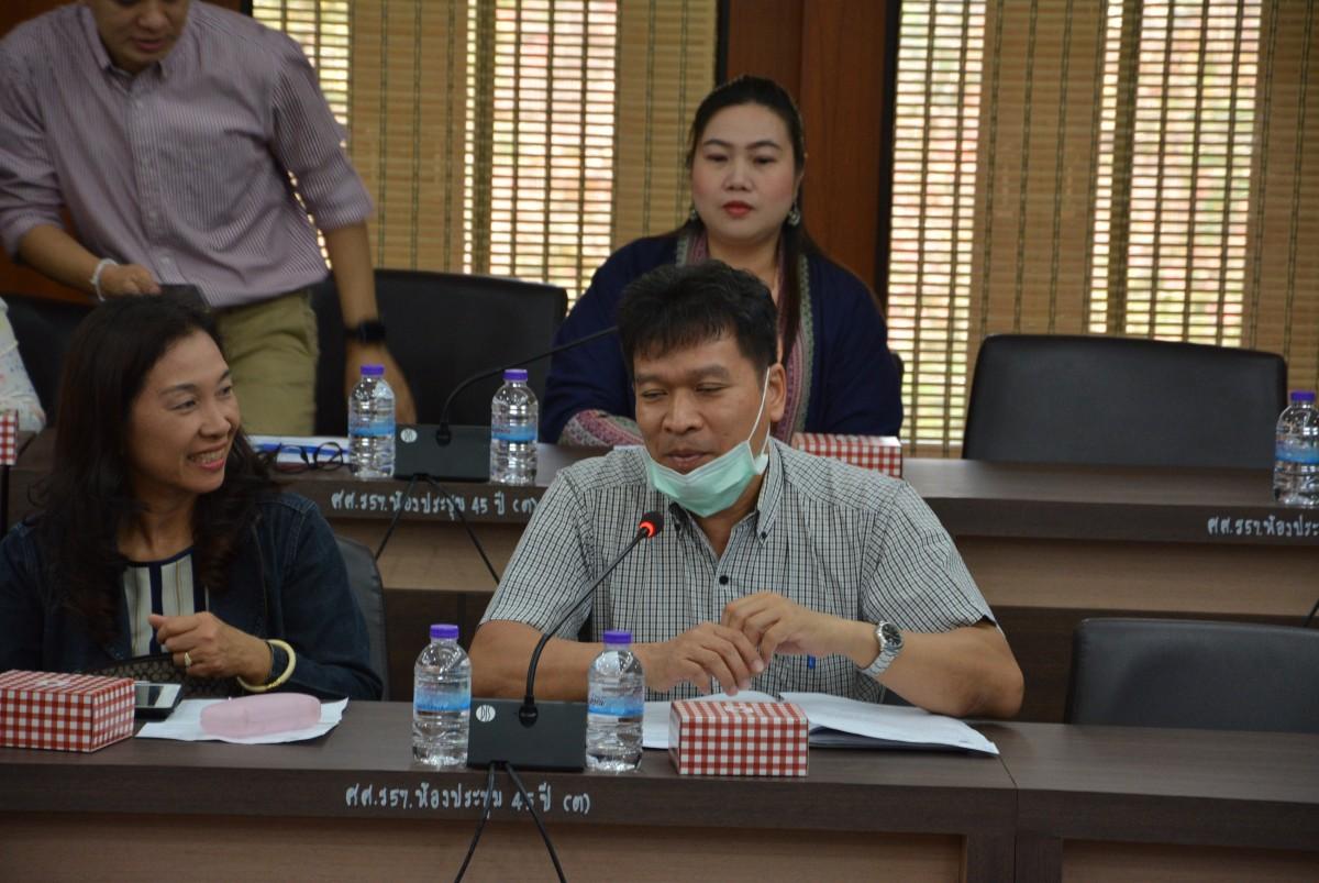 คณะศึกษาศาสตร์ ประชุมหารือเกี่ยวกับการดำเนินงานของหลักสูตรที่ผ่านมา และเพื่อรับฟังระบบและแนวทางการประกันคุณภาพการศึกษาภายใน หลักสูตรระดับตรี โท เอก ประจำปีการศึกษา 2563