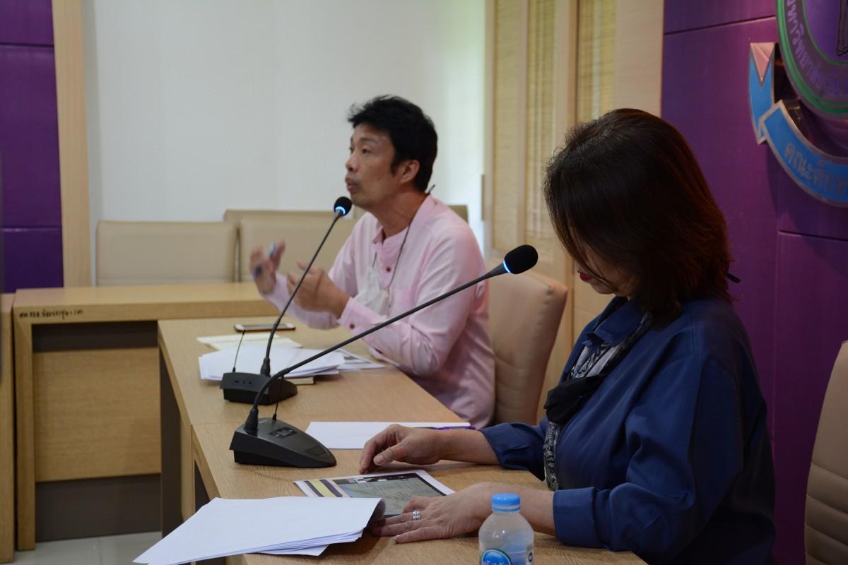 คณะศึกษาศาสตร์ มช. เสนอผลการดำเนินโครงการ U-School Mentoring แก่ประธานเครือข่าย