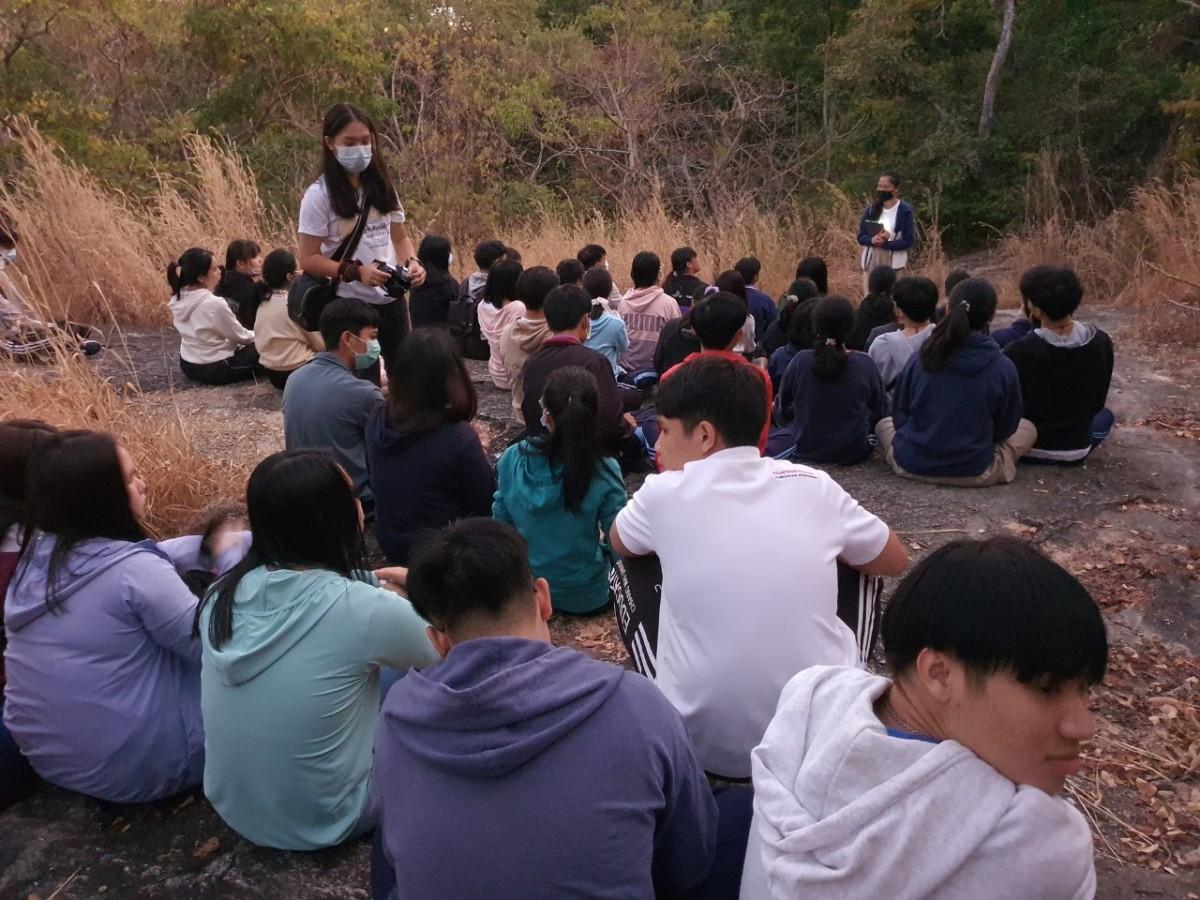 ชมรมพุทธศิลป์ศึกษาฯ จัดโครงการทดสอบสภาวะจิตใจและการทำสมาธิ ปีการศึกษา 2563 (ขึ้นม่อนพุทธศิลป์)
