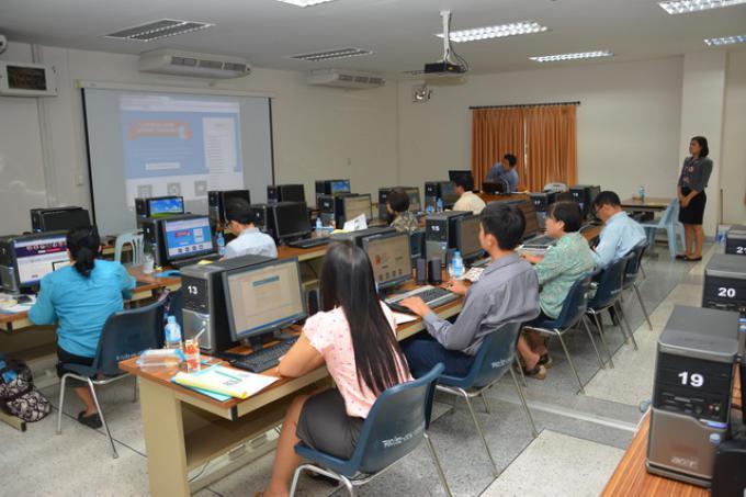 คณะศึกษาศาสตร์ จัดการอบรมเชิงปฏิบัติการการใช้โปรแกรม Turnitin แก่คณาจารย์ บุคลากร และนักศึกษาบัณฑิตศึกษา