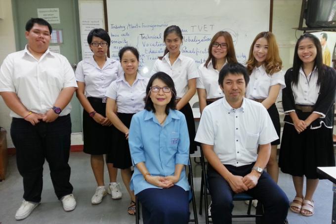 สาขาวิชาบริหารธุรกิจ คณะศึกษาศาสตร์ มช. ให้การต้อนรับอากันตุกะจากมหาวิทยาลัยโอซาก้า ประเทศญี่ปุ่น