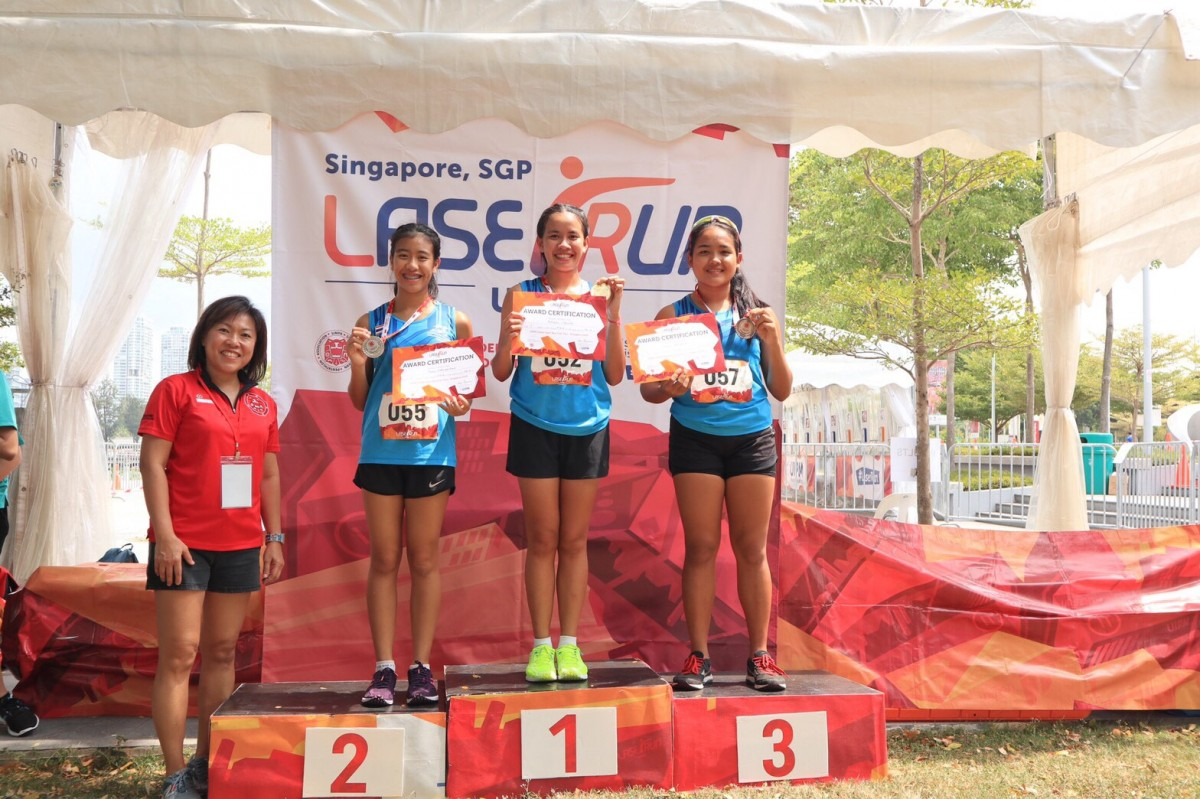 นักศึกษาสาขาวิชาพลศึกษา คว้าเหรียญทองใน UIPM Global Laser Run City Tour Singapore 2019