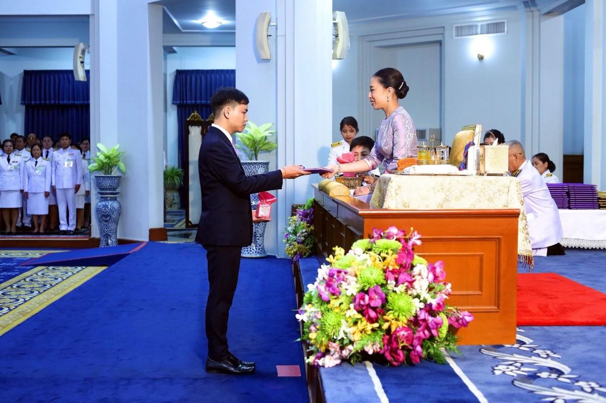 นศ.สาขาวิชาภาษาไทย ได้รับรางวัลพระราชทาน ประจำปี 2561