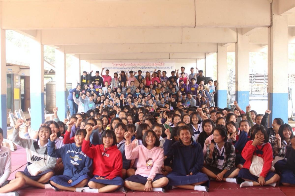คณาจารย์และนักศึกษา คณะศึกษาศาสตร์ มช. จัดโครงการส่งเสริมการเรียนรู้ภาษาไทยแก่นักเรียนและชุมชนบนพื้นที่สูง ประจำปีงบประมาณ พ.ศ. 2563