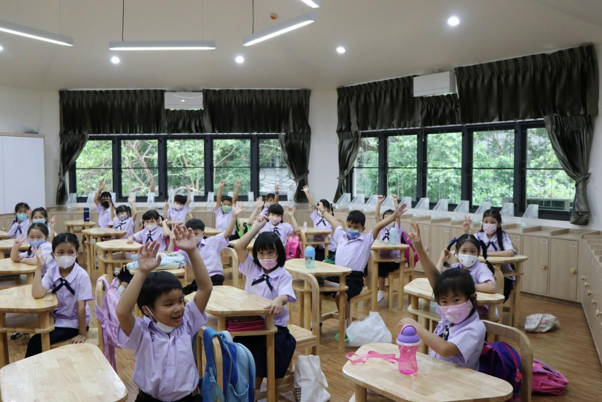 โรงเรียนสาธิต มช. ระดับอนุบาลและประถมศึกษา เปิดภาคเรียนวันแรก