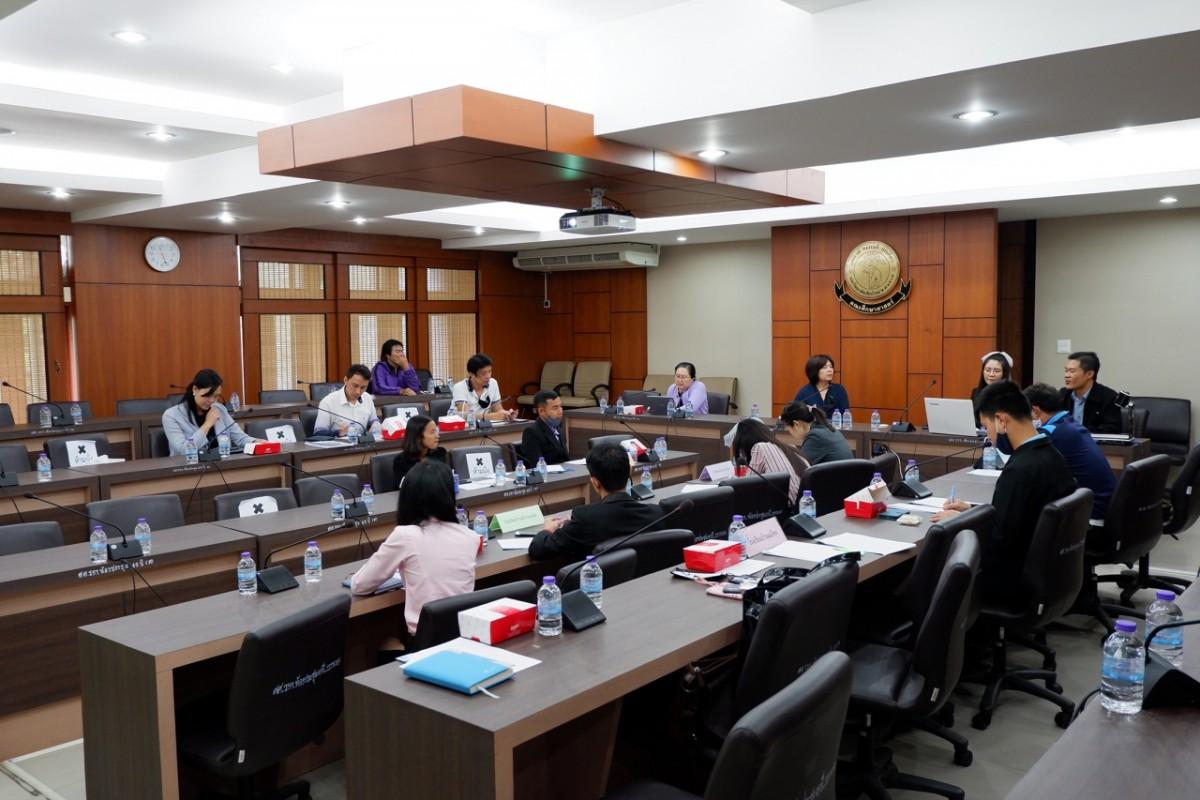 คณะศึกษาศาสตร์ มช. จัดประชุมติดตามและประเมินผลโครงการส่งเสริมการเรียนรู้ภาษาไทยแก่นักเรียนและชุมชนบนพื้นที่สูง อ.อมก๋อย จ.เชียงใหม่ ประจำปีงบประมาณ พ.ศ. 2563