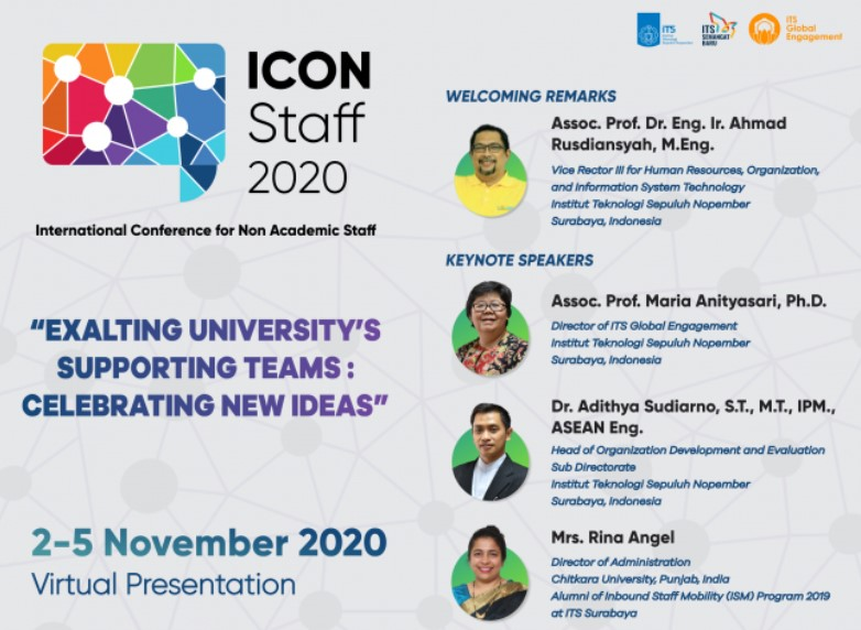 International Conference for Non-Academic Staffs (IconStaff 2020)