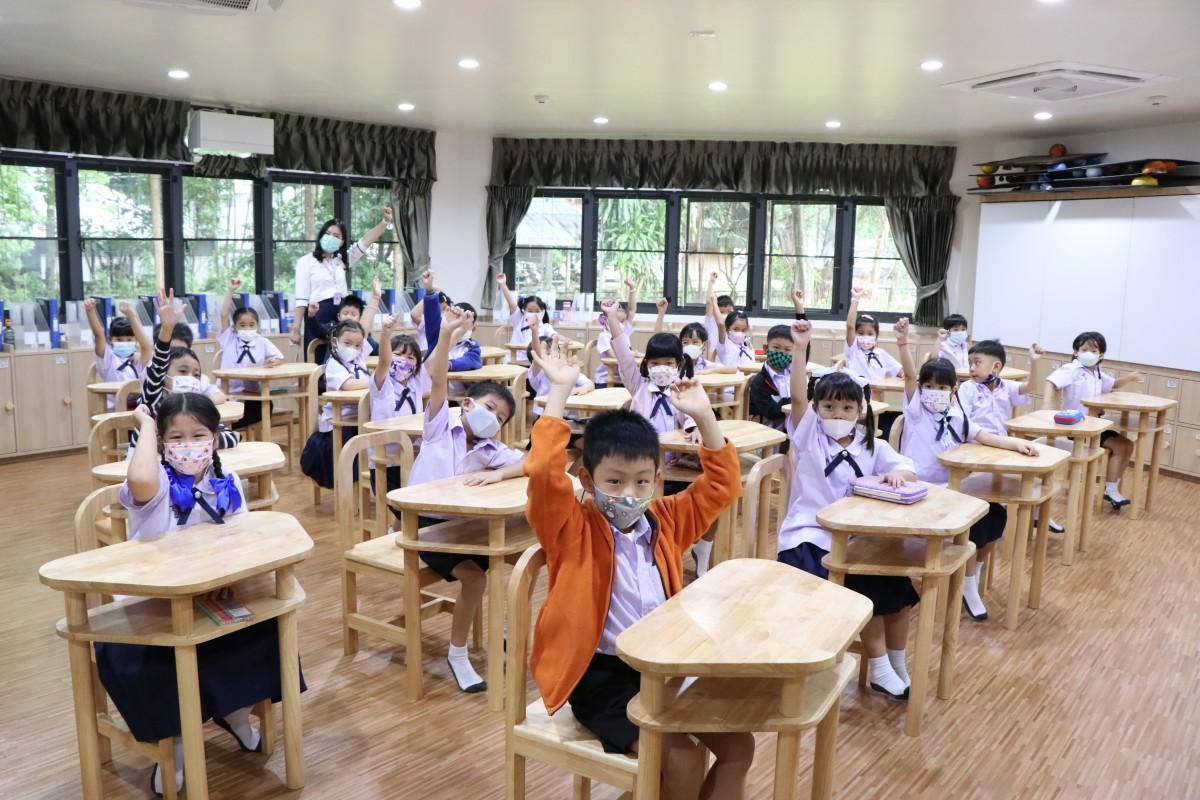โรงเรียนสาธิต มช. ระดับอนุบาลและประถมศึกษา เปิดภาคเรียนที่ 1/2564 วันแรก