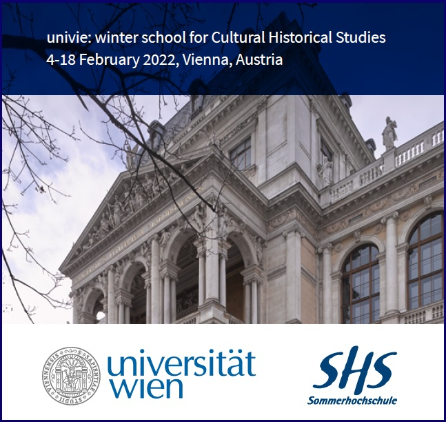 Winter School for Cultural Historical Studies 2022